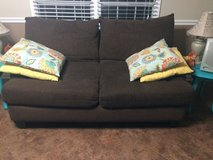 Couch loveseat ottoman and rug in Camp Lejeune, North Carolina