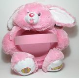"""Pink Bunny Plush Easter Basket 7""""h x 16""""l x 13""""w  The Basket is 4"""" deep by Dan Dee in Camp Lejeune, North Carolina"""