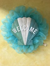 Wood Seashell Sign Welcome Wreath in Elizabethtown, Kentucky