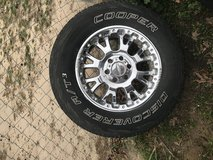 4. 18 in Ford truck wheels and tires in Fort Polk, Louisiana
