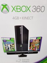 Brand New Xbox 360 4GB Kinect Console Bundle With Kinect & 2 Free Games. in Stuttgart, GE