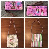 Fox & owl wristlet/wallet and owl pattern purse in Perry, Georgia