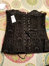 Celestial moon and stars lace up corset-new with tags from Hot Topic in Camp Lejeune, North Carolina