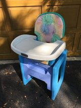 High Chair - Converts to Chair/Table Set in Lockport, Illinois