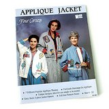 UNCUT WOMAN'S APPLIQUE JACKET PATTERN BK, SMLXL in Westmont, Illinois