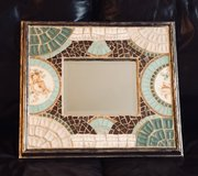 Boutique Mosaic Tile Accent Mirror in San Antonio, Texas