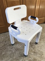 Drive Premium Shower Chair with Back and Arms in Naperville, Illinois