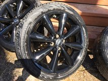 """Mini Cooper S wheels, 17"""" with ContiProContact SSR Mud and Snow tires in Fairfax, Virginia"""