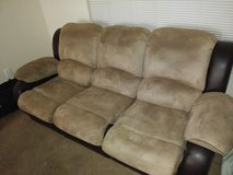 Couch and recliner in Lawton, Oklahoma