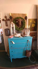 Turquoise Chest Of Drawers in Alamogordo, New Mexico