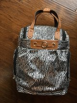 Zebra Print Carryon Bag Suitcase with Wheels in Fort Riley, Kansas