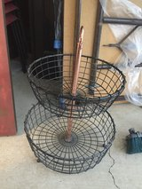 New 2-Tier Wire Fruit Basket, Large in Camp Pendleton, California