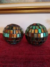 PRETTY DECORATIVE BALLS WITH GLASS PIECES in Clarksville, Tennessee