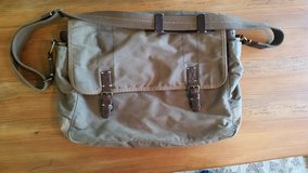 Waxed Canvas messenger bag by J. Crew in Camp Lejeune, North Carolina