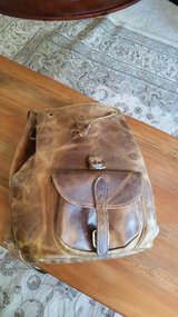 Handmade Leather backpack  (Pullup leather) in Camp Lejeune, North Carolina