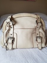Fossil Dome tan leather satchel handbag in Westmont, Illinois