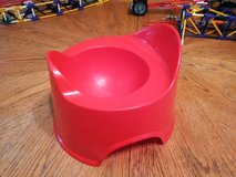 Ikea red potty in Travis AFB, California