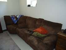 3 piece microfiber couch in Quantico, Virginia