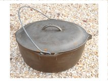 "LODGE Cast Iron #10 Dutch Oven  USA  -- 12"" Dia. in Travis AFB, California"