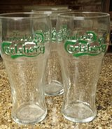 REDUCED Carlsberg Pub glasses England in 29 Palms, California