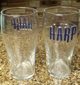 REDUCED Harp pint glasses in 29 Palms, California
