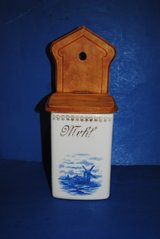 Antique Porcelain Flour (Mehl) Box 1920's in Ramstein, Germany