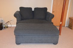 Sealy Sleep Sofa Loveseat Bed with Storage Ottoman in Sandwich, Illinois