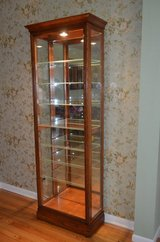 Howard Miller Collectors Cabinet Lighted CURIO Display GORGEOUS in Sugar Grove, Illinois