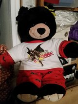 Build a bear black bear with batman clothes in Fort Bragg, North Carolina
