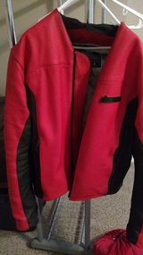 Icon motorcycle full leather jacket size L in Fort Leonard Wood, Missouri