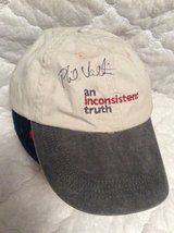 Cap: Autographed by Phil Valentine in Perry, Georgia