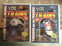 Lots, Lots of Trains in Fort Campbell, Kentucky
