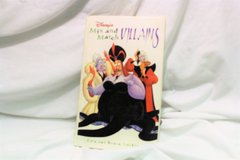 Disney's Mix and Match Villians Book by Eric Goldberg (1997, Hardcover) in Kingwood, Texas