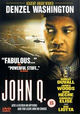 John Q (DVD, 2002) Denzel Thriller Drama in Kingwood, Texas