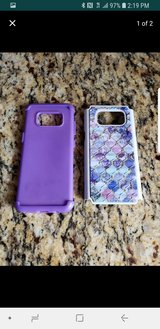 Samsung S8 case purple in Olympia, Washington