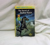 Nancy Drew: The Secret of Shadow Ranch 5 by Carolyn Keene (1980, Hardcover) in Kingwood, Texas