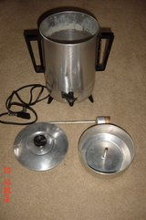 Vintage Empire Matic 32 Cup Aluminum Automatic Party Percolator in Orland Park, Illinois