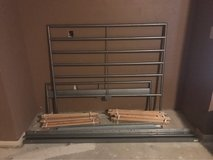 IKEA Metal frame Full size in Pearland, Texas