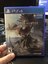Monster Hunter World PS4 in Fort Leonard Wood, Missouri