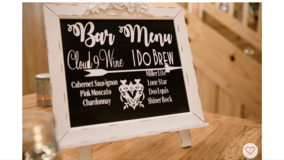 1 White Chalkboard Signs/Bar Menus in Baytown, Texas