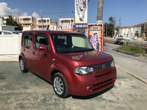 WOW 2008 Nissan Cube - Beautiful Dark Red - Clean Inside & Out - TINT - Well Maintained - Compar... in Okinawa, Japan