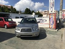 FRESH 2005 Subaru Forester - AWD - Automatic - TINT - DVD/TV/NAVI - Compare & $ave in Okinawa, Japan