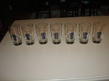 """Authentic """"7"""" Vintage PABST BLUE RIBBON ~ORIGINAL~ Beer Glasses in Brookfield, Wisconsin"""