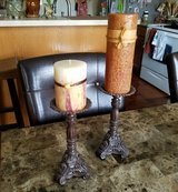 Candles/Candle Holder Set in Fort Campbell, Kentucky