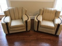 ANTIQUE KING AND QUEEN CHAIRS in Bartlett, Illinois