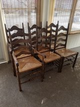 Set of ladderback chairs in Naperville, Illinois