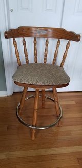 Oak Bar Stools  - 2 items in Chicago, Illinois