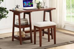 New! Writing Desk with Shelf and Stool DELIVERY AVAILABLE* in Oceanside, California