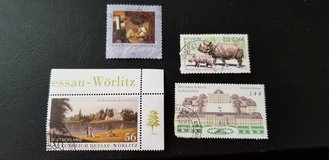 German stamps in El Paso, Texas