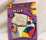 Daily Warm-Ups: Math, Grade 6 by Heath Roddy (2006, Paperback, New Edition) in Kingwood, Texas